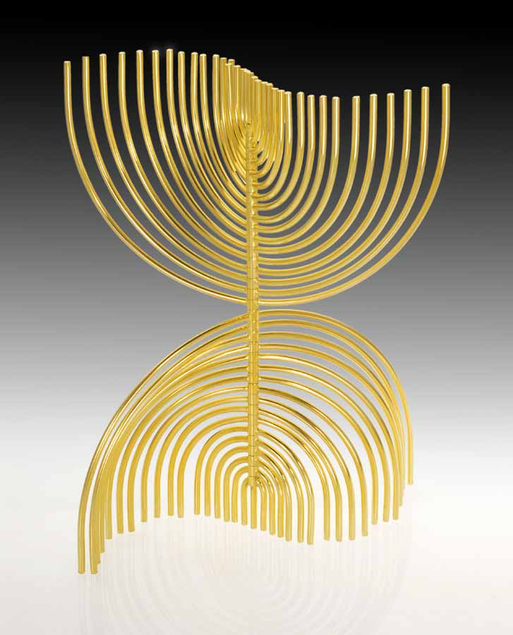 The Agam Menorah by Yaacov Agam