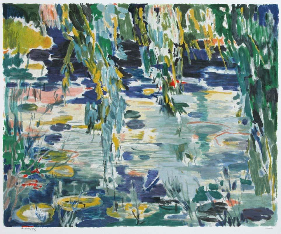 Waterlilies by Abraham Binder