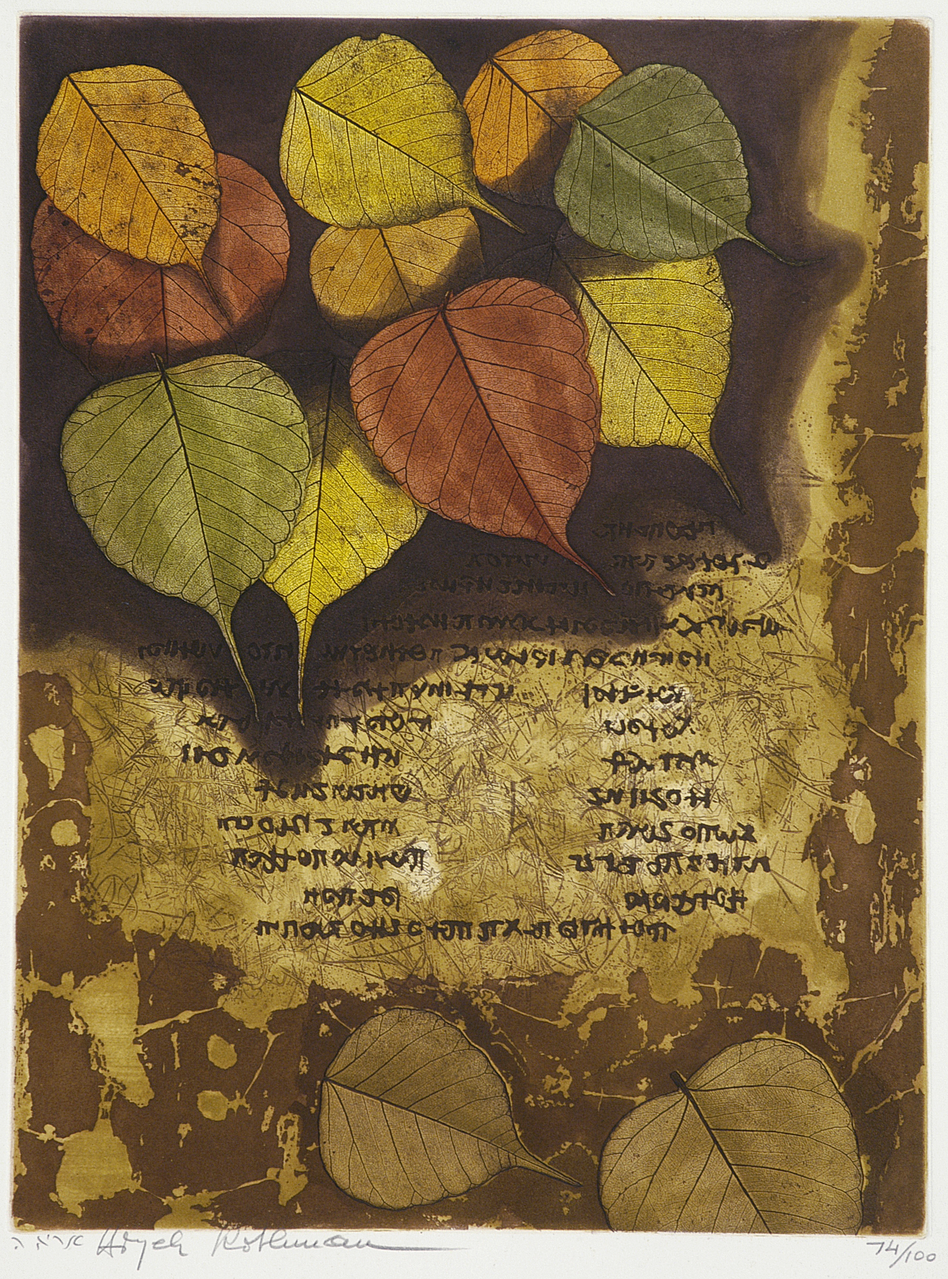 Scroll of Autumn by Aryeh Rothman
