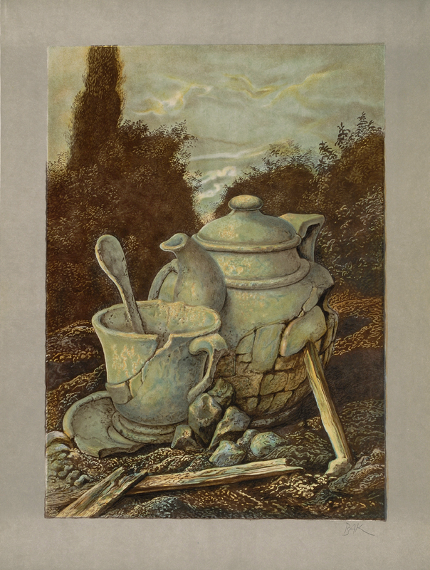 Tea Pot by Shemuel Bak