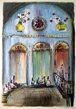 Synagogue by  Kossonogi