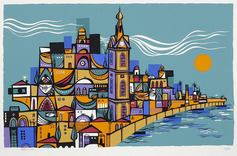 Old Jaffa by Naim Basson