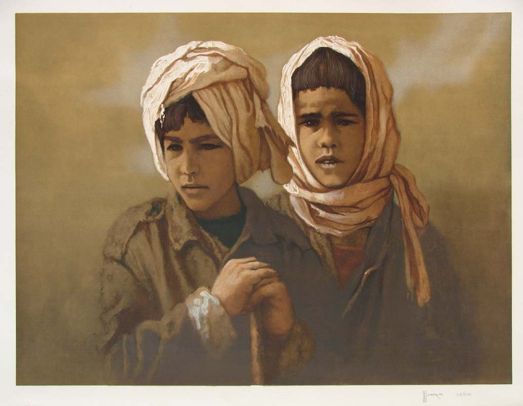 Two Young Boys by Sonny Weintraub