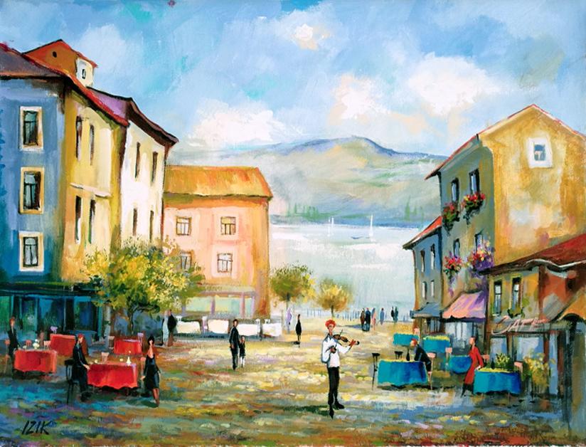 Tiberias #1 by  Izik