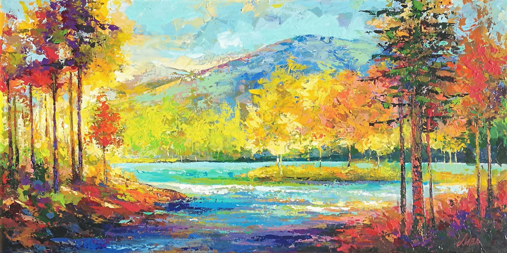 Landscape I by  Luba