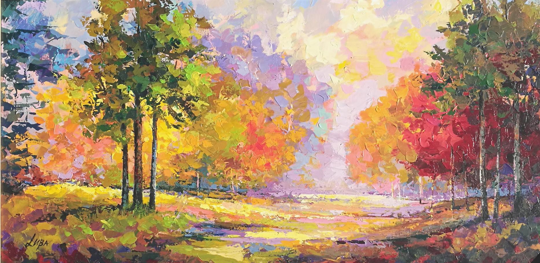 Landscape II by  Luba
