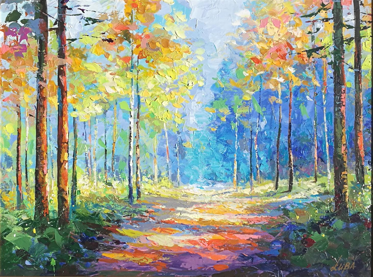 Landscape III by  Luba