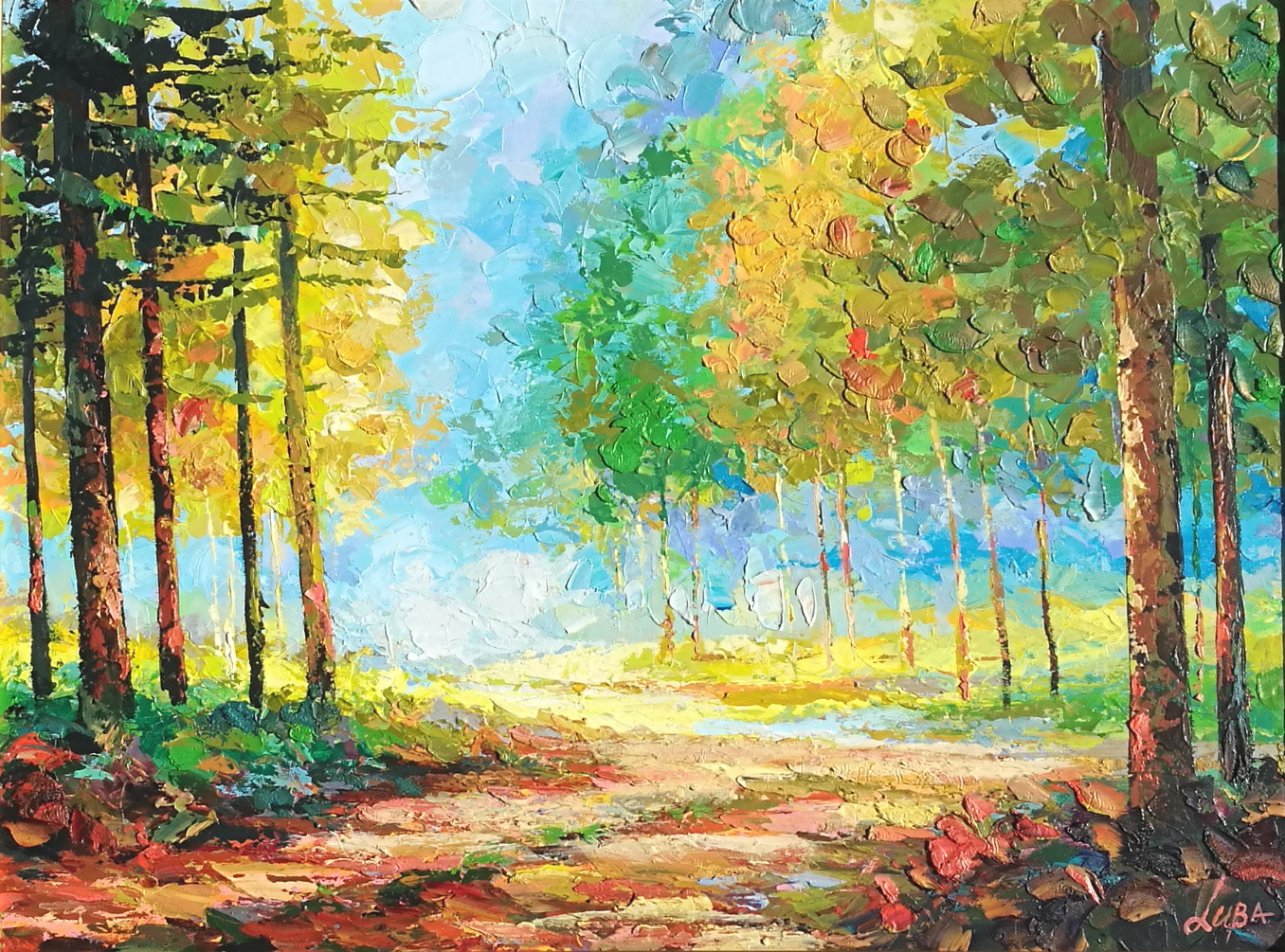 Landscape V by  Luba