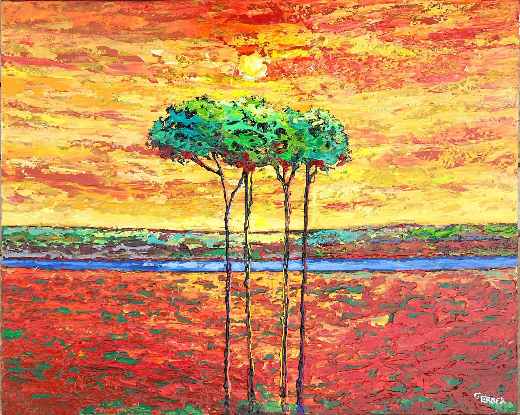 Landscape III by Alik Gerber