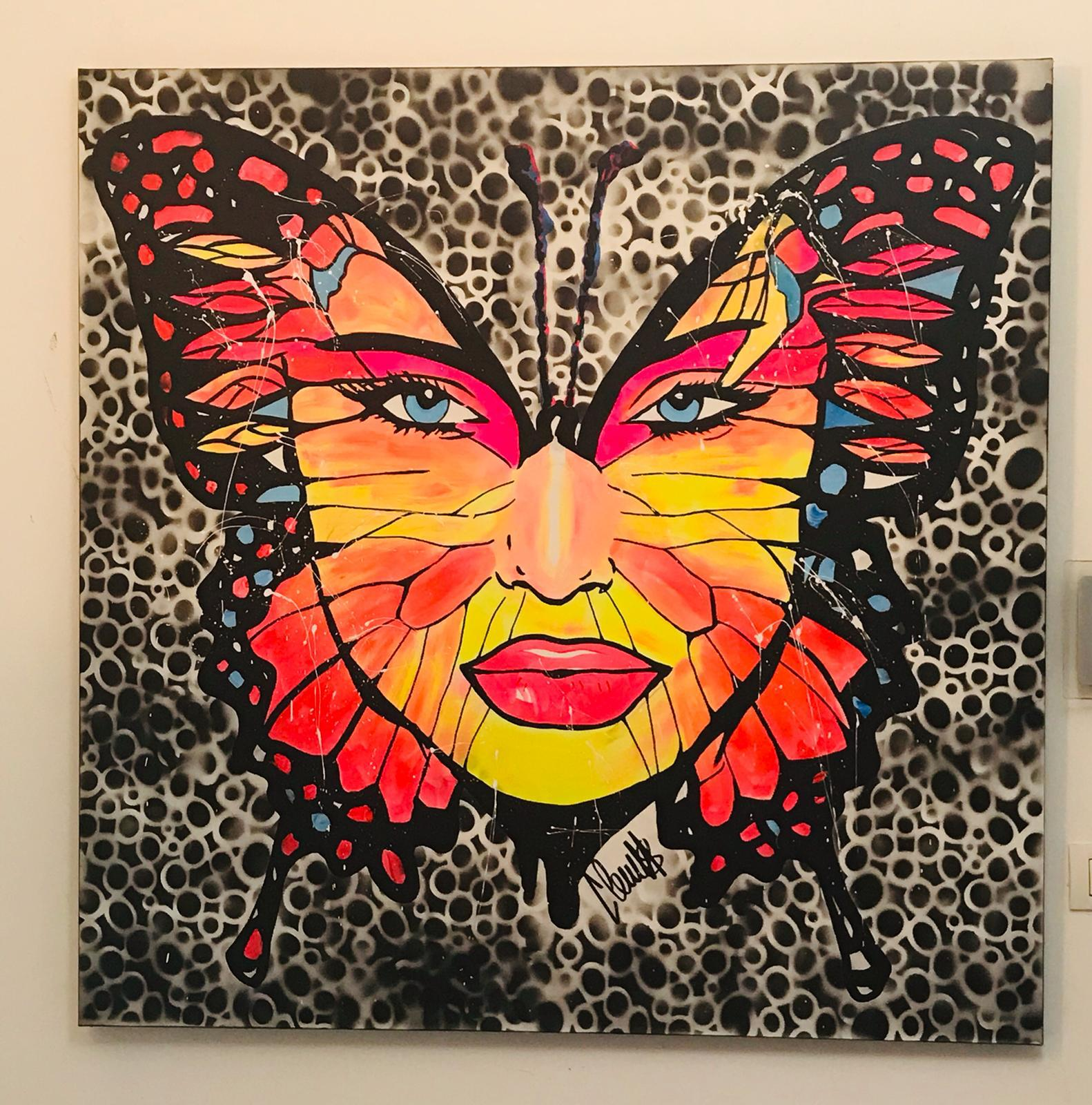 Butterfly Woman by  Clem$