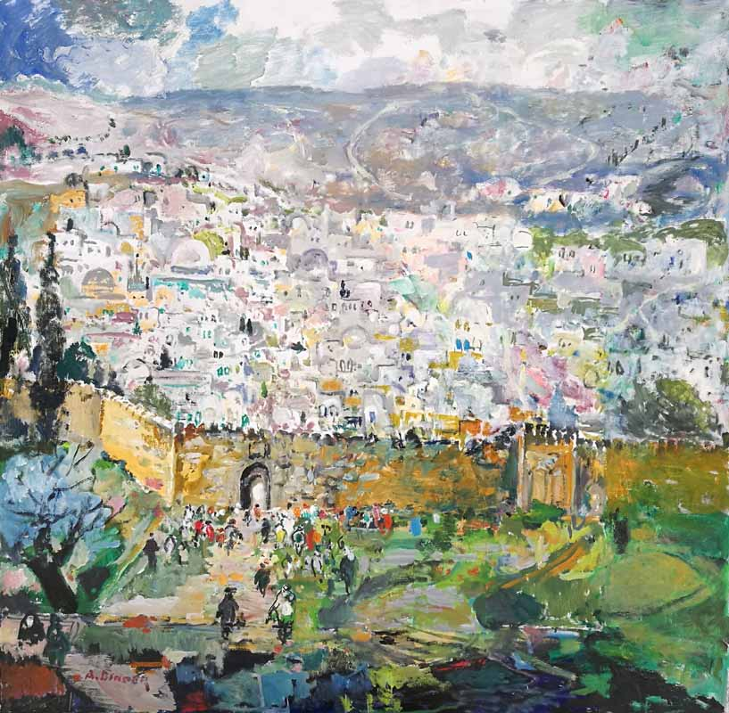Jerusalem of Gold by Abraham Binder