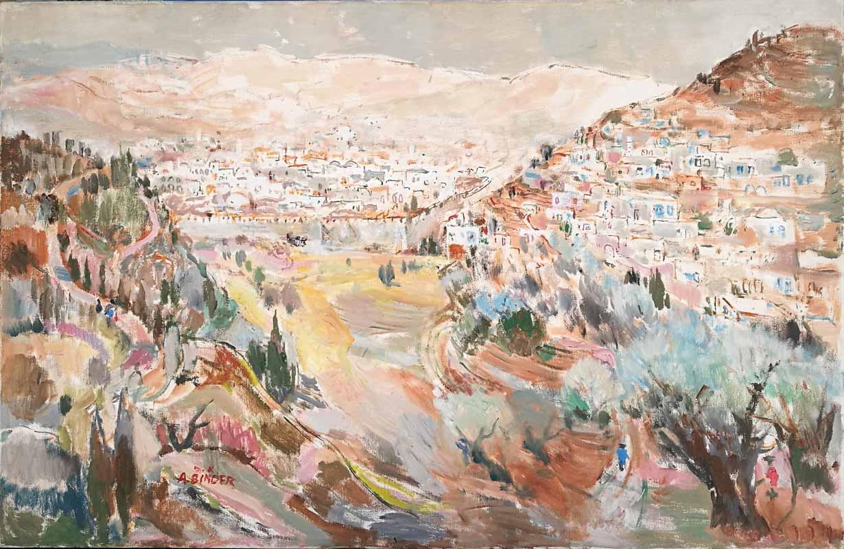 Jerusalem The city of Peace by Abraham Binder