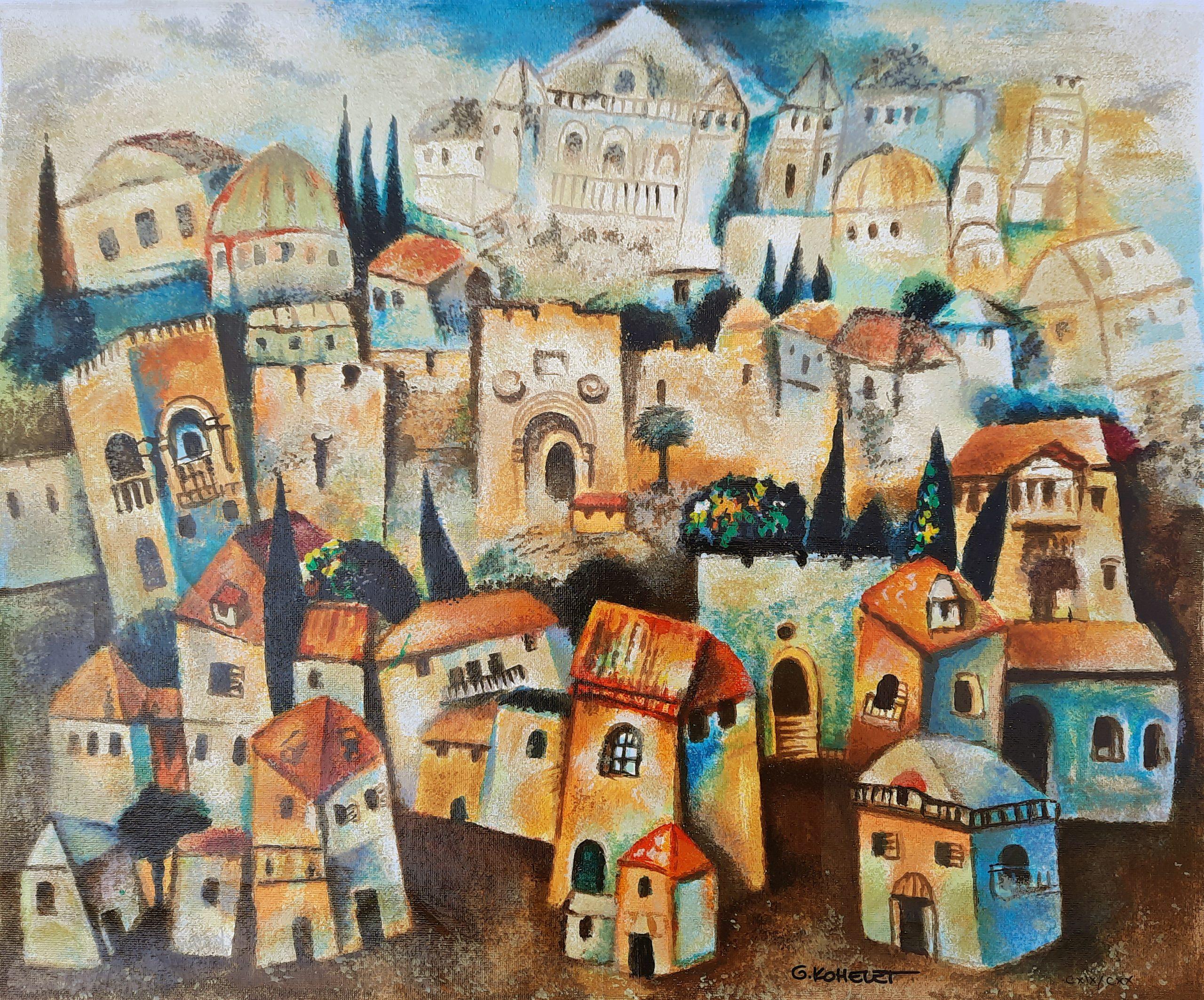 Jerusalem IV by Gregory Kohelet
