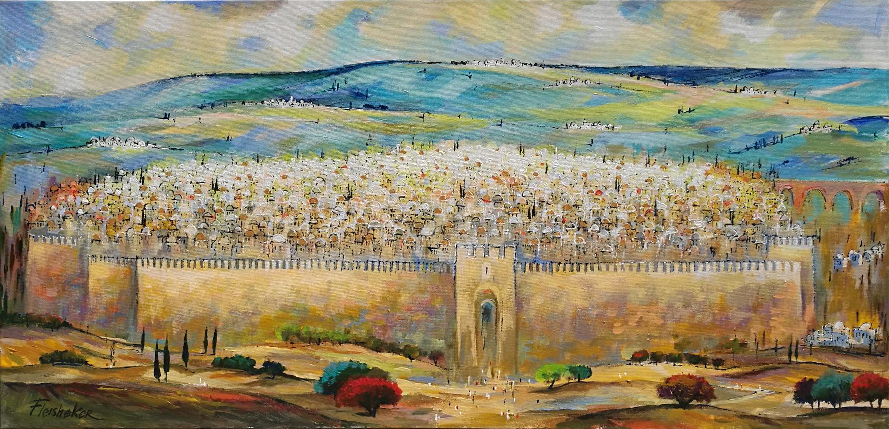 Jerusalem #18 by  Fleisheker