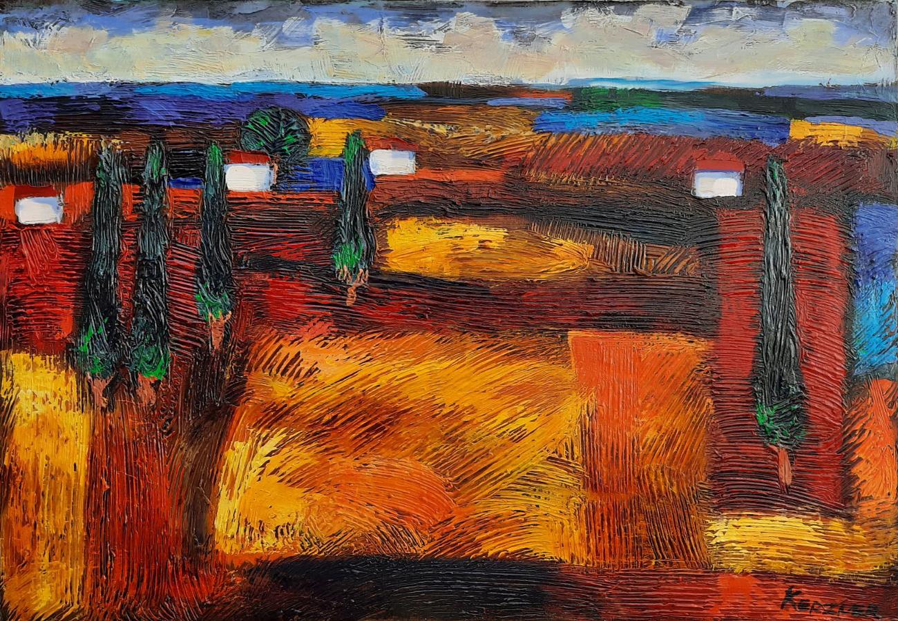 Galilee Landscape 2 by  Michael Kerzner