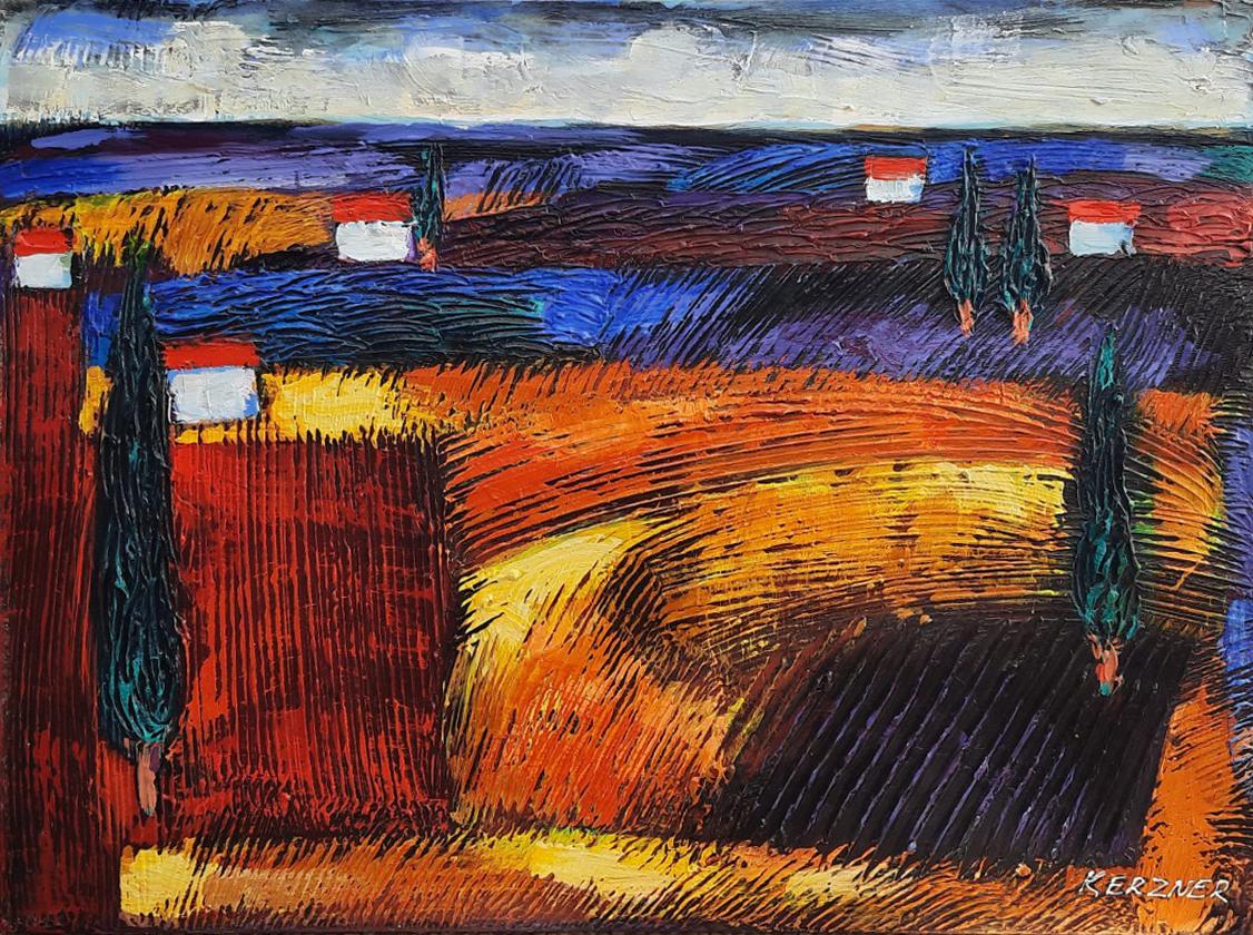 Galilee Landscape by  Michael Kerzner