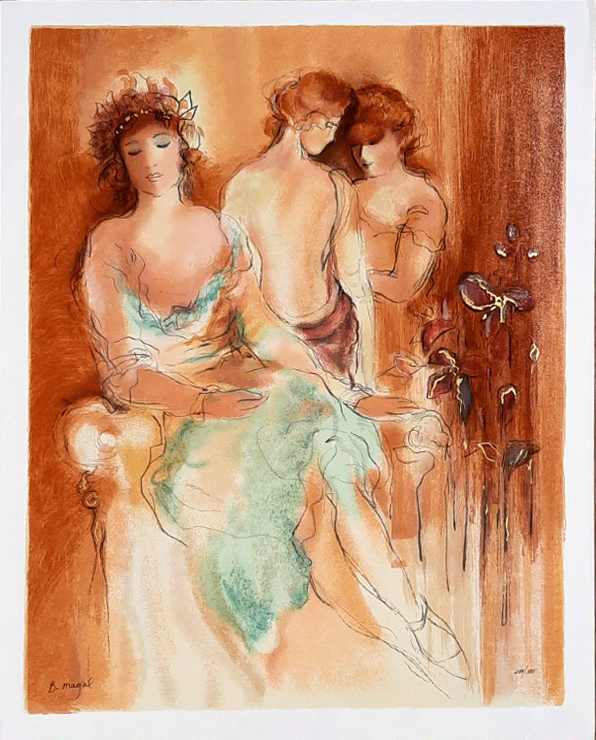 3 Ladies by Batya Magal