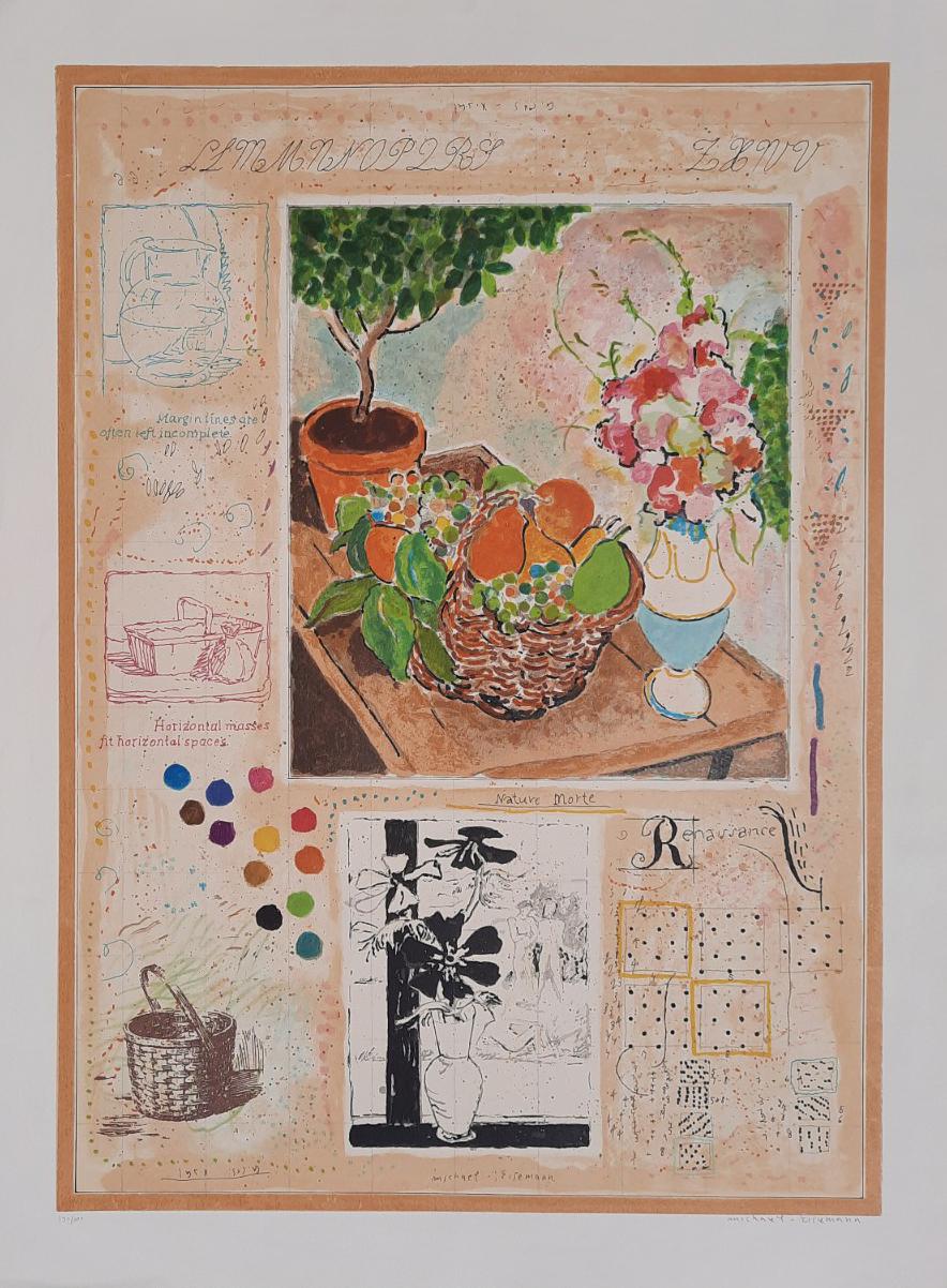 Bowl of Flowers by  Eisenman Michael